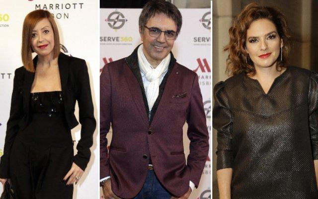 Fátima Lopes, Fernando Pereira e Leonor Seixas