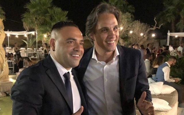 Fabrizio Miccoli e Nuno Gomes