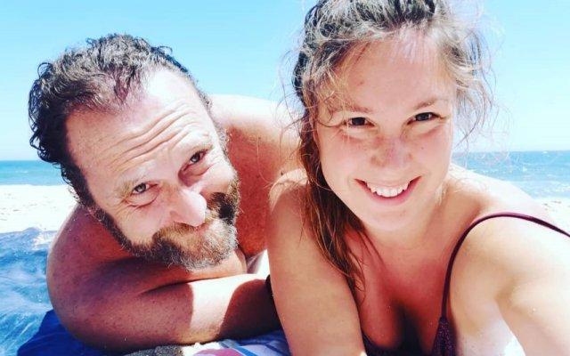 Eduardo Madeira com Joana Madeira