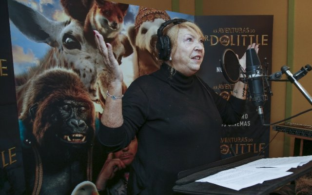 Ana Bola nas dobragens do filme As Aventuras do Dr. Dolittle