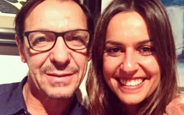 Fernando Gomes e filha Filipa