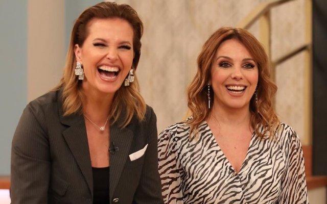 Cristina Ferreira e Tânia Ribas de Oliveira