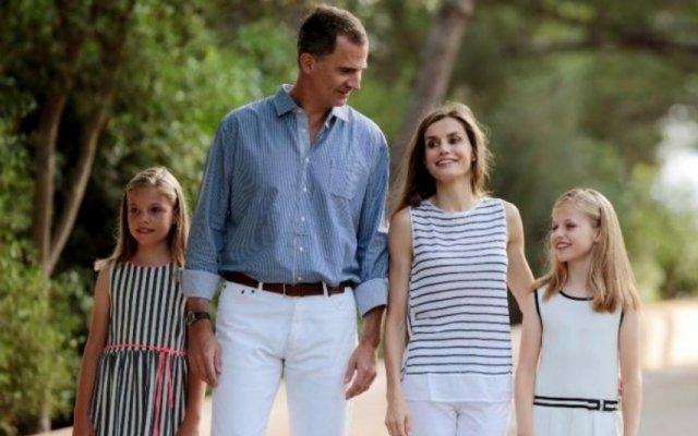 Felipe VI de Espanha e família