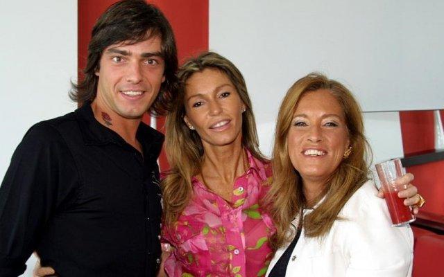 Cláudio Ramos, Cinha Jardim e Teresa Guilherme