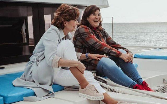 Bárbara Guimarães e Dolores Aveiro
