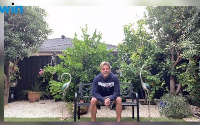 Sérgio Rossi está na Austrália e não sabe quando conseguirá regressar