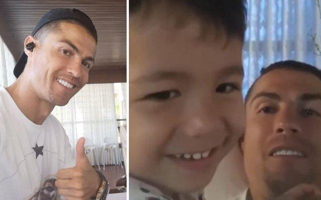 Cristiano Ronaldo e Mateo