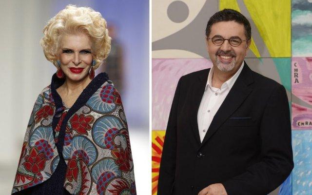 Lili Caneças e José Carlos Malato