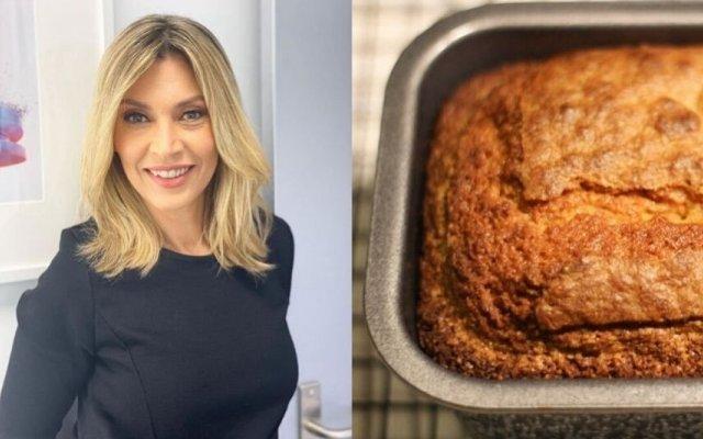 Clara de Sousa e o bolo rápido de azeite e limão