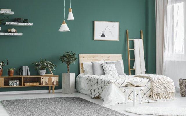 Pinte o seu quarto com as suas cores de sonho