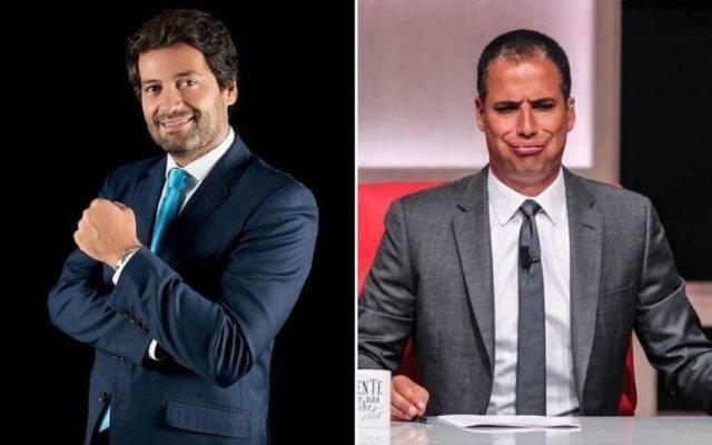 André Ventura e Ricardo Araújo Pereira
