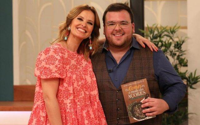 Rúben Pacheco Correira com Cristina Ferreira