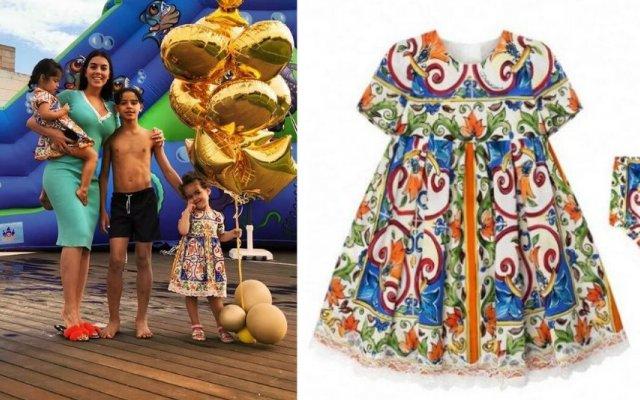 O vestido favorito de Eva e Alana Martina