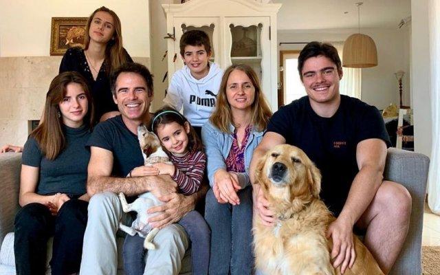 Pedro Lima e a família