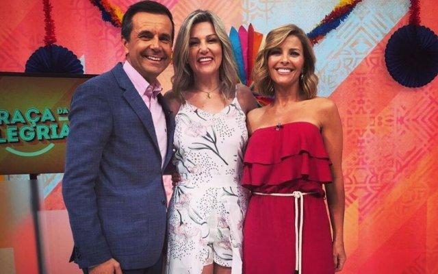 Izabel de Paula com Jorge Gabriel e Sónia Araújo