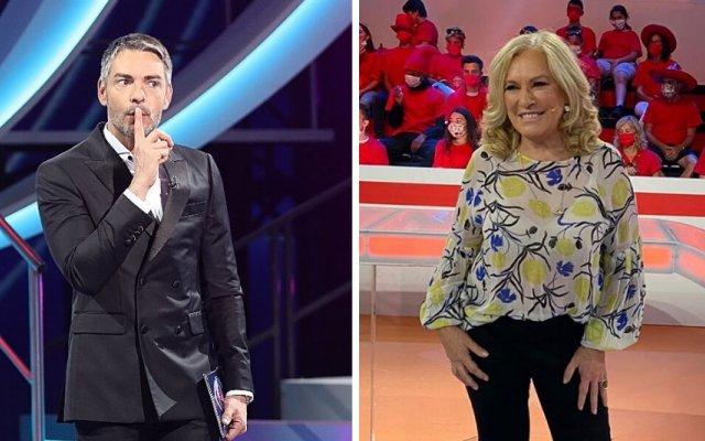 Cláudio Ramos e Teresa Guilherme