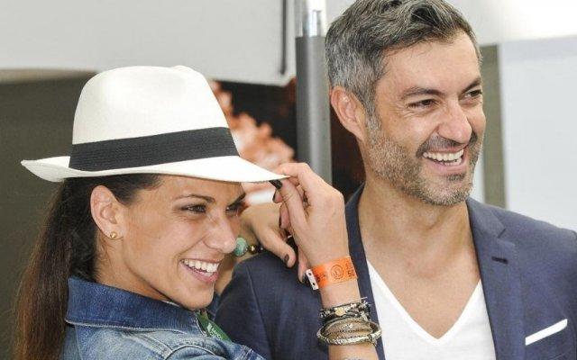 Vítor Baía e Andreia Santos