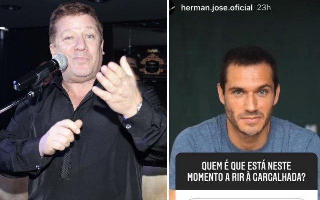 Herman José e Paulo Rocha