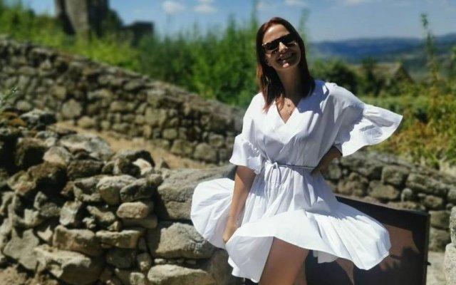 Cristina Ferreira está de férias em Marialva
