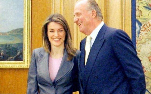 Juan Carlos e Letizia