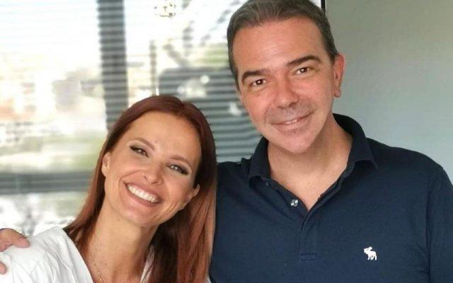 Cristina Ferreira e Nuno Santos