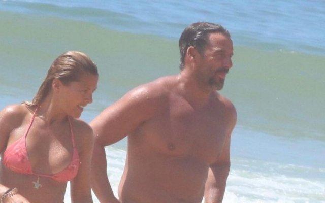Sónia Araújo e o marido