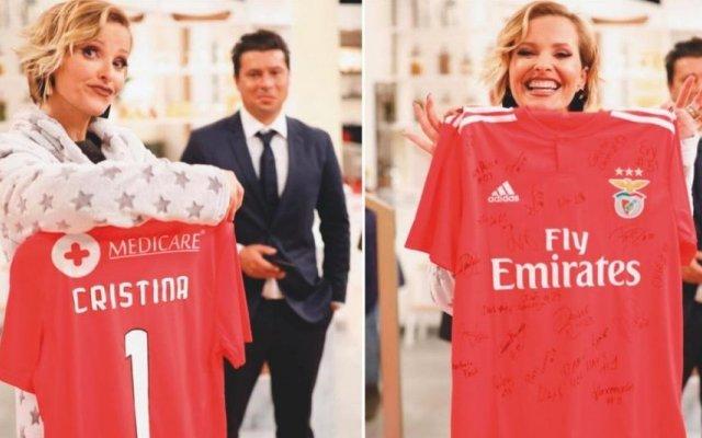 Cristina Ferreira disse sim ao Benfica