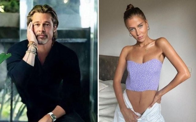 Brad Pitt e a nova namorada