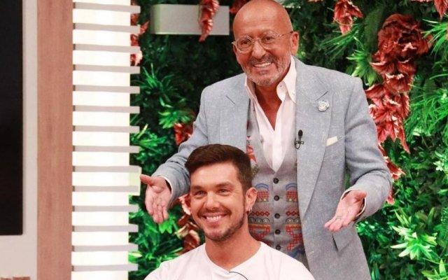 Ruben Vieira e Manuel Luís Goucha