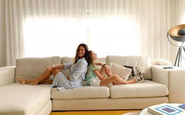 Cláudia Vieira e Maria
