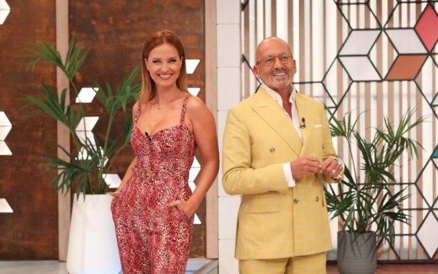 Manuel Luís Goucha e Cristina Ferreira no Você na TV!