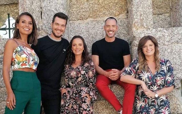 Cláudio Ramos esteve este domingo no Somos Portugal, da TVI