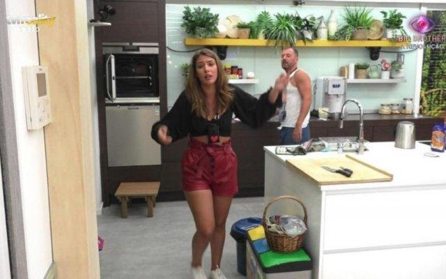 Big Brother : Carina vai ser castigada