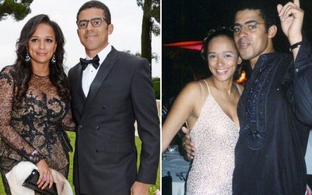 Isabel dos Santos e o marido