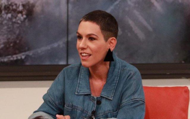 Marta Bateira, conhecida como Beatriz Gosta, esteve no programa de Manuel Luís Goucha na TVI