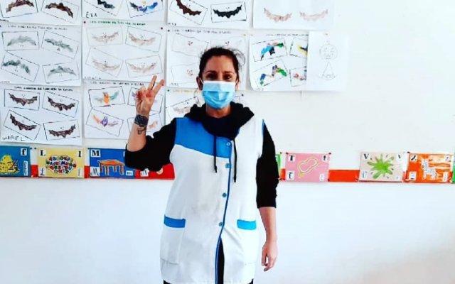 Sara Norte é agora assistente operacional numa escola básica