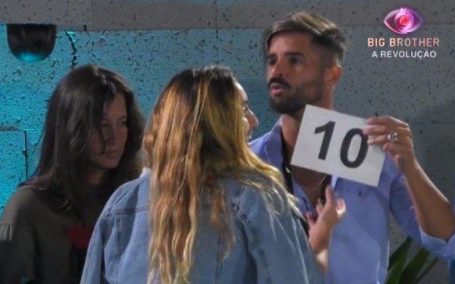 Rui Pedro e Zena discutem