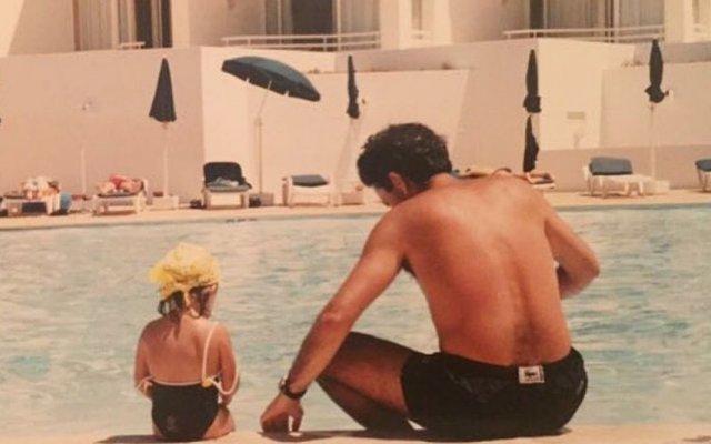 José Mourinho e a filha, Matilde