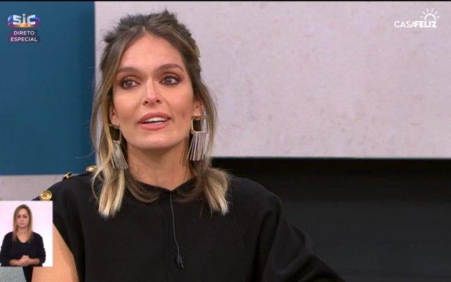 """Diana Chaves emociona-se no programa """"Casa Feliz"""" da SIC"""