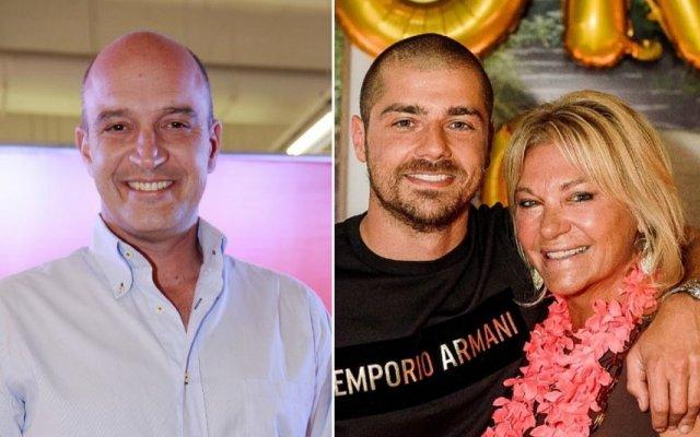 Nuno Graciano e mãe de Lourenço Ortigão estão a gravar programa de televisão
