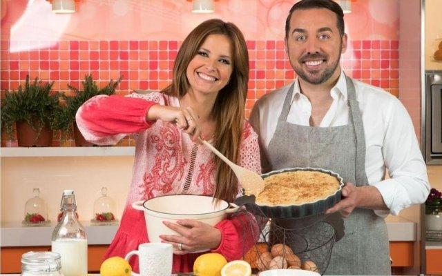 Cristina Ferreira e Flávio Furtado