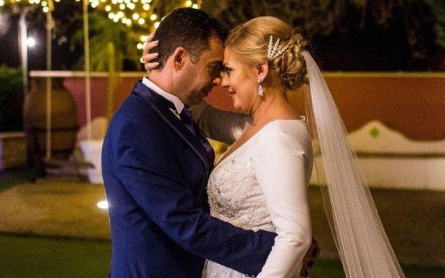 Rebeca e Élio casaram-se