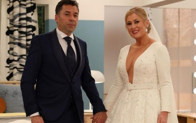 """Rebeca esteve com marido, Élio, no programa """"Casa Feliz"""", da SIC"""