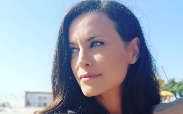 Andreia Dinis, luto, morte da tia