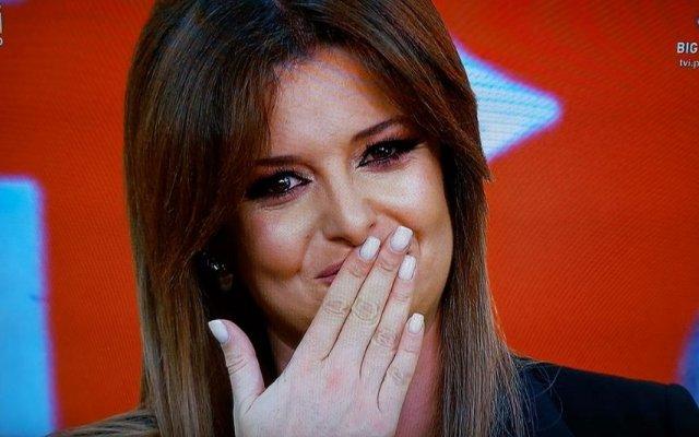 Maria Botelho Moniz desfaz-se em lágrimas na despedida do Big Brother