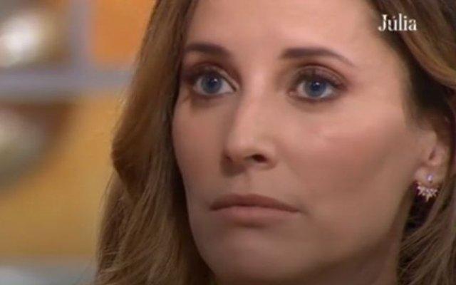 """Maria João Bastos no programa """"Júlia"""""""