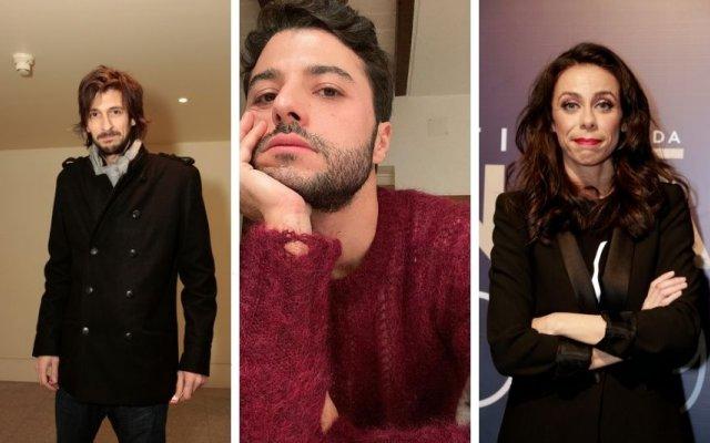 Bruno Nogueira, Rui Maria Pêgo e Filomena Cautela