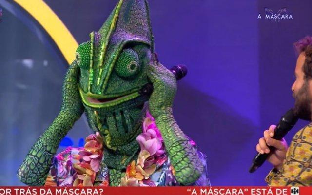 """Emanuel é o Camaleão do programa """"A Máscara"""", da SIC"""