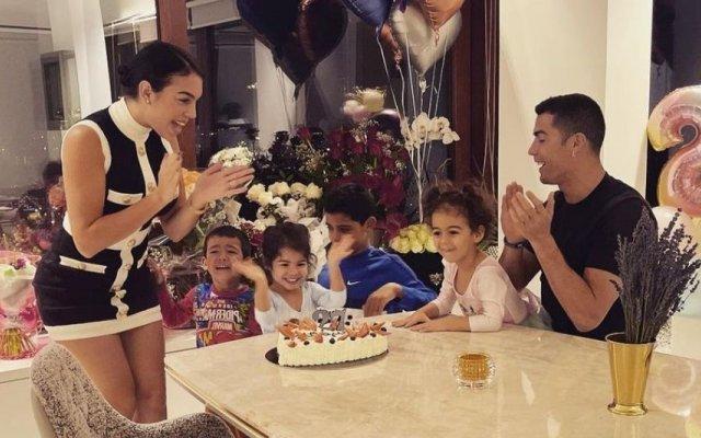 Georgina Rodríguez comemorou mais um aniversário