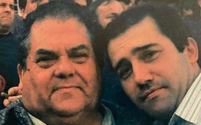 José Raposo e o pai